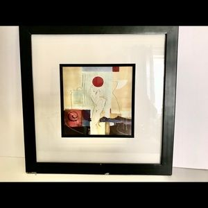 2 Alfred Alexander Gockel Abstract Art Frames